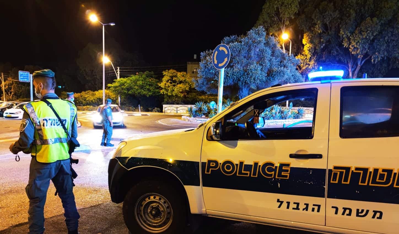 """מג""""ב חוף בפעילות למיגור הפשיעה בחיפה, קרדיט צילום: חדשות NWS"""