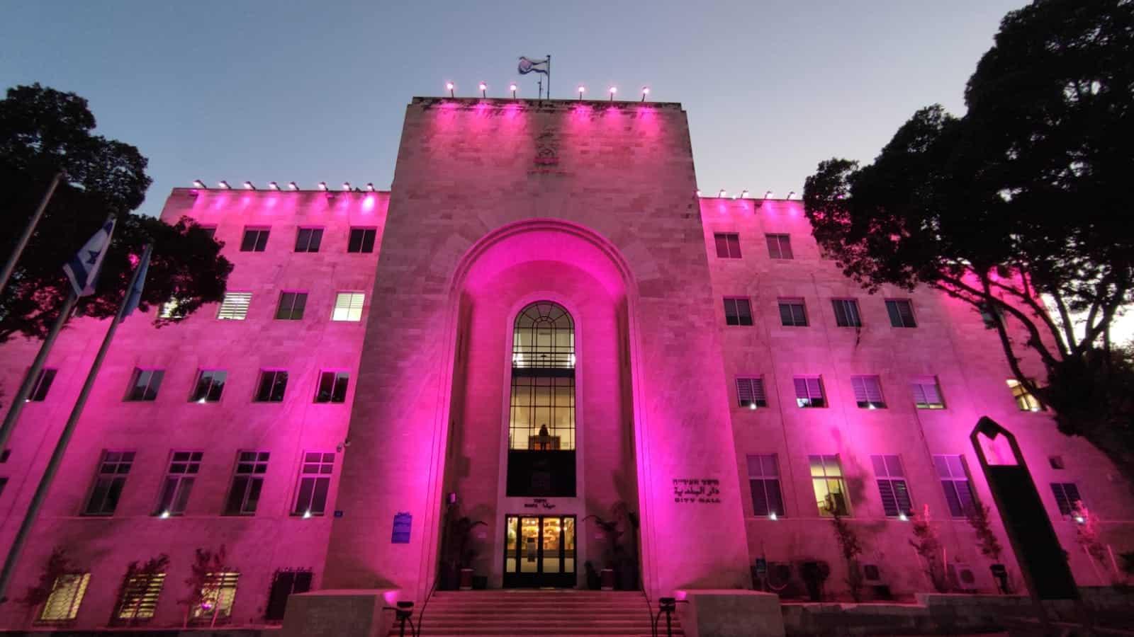 בניין עיריית חיפה, קרדיט צילום: דוברות עיריית חיפה