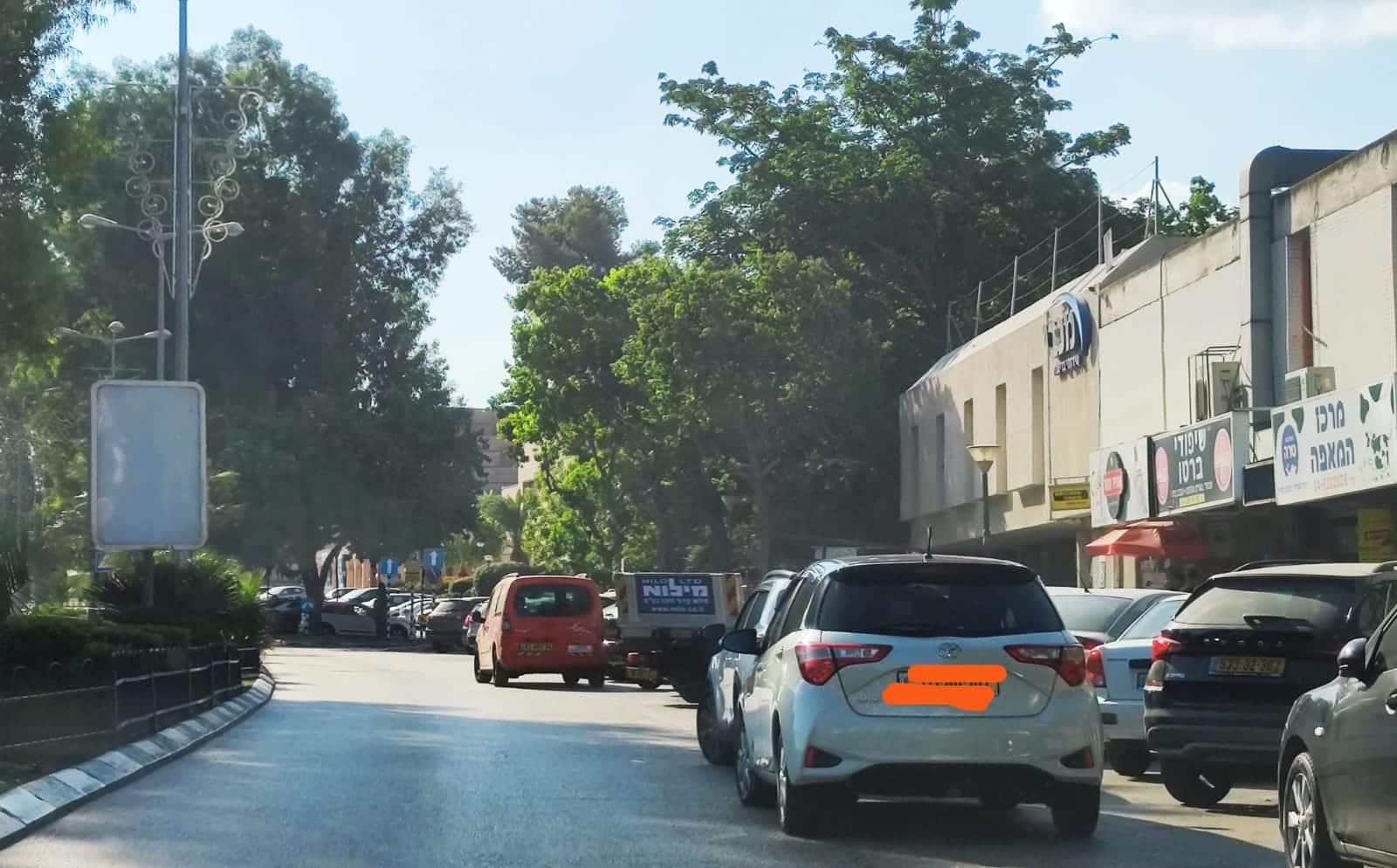 בעיות חנייה בדרך השלום נשר, חדשות NWS